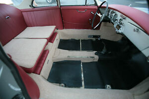 Porsche 356 B T6 356c Coupe In German Square Weave Carpet Color Tan 1962 65