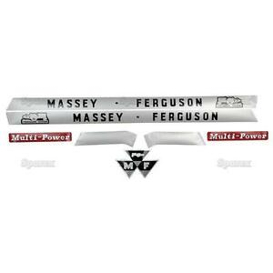 Massey ferguson Mf 135 148 Mf135 Mf148 Tractor Basic Decal Set