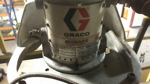 Graco Air Powered Grease Pump With Air Lift