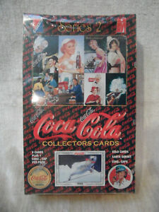 Coke Series 2 Trading Card Coca Cola 36 packs cap cards