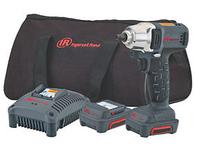 New Ingersoll Rand 12v Iqv 3 8 Dr Cordless Impact Wrench Kit Ir W1130 K2
