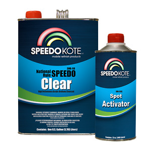Extremely Fast Dry Clear Coat 4 1 Mix Spot Clearcoat Gallon Kit Smr 110 150