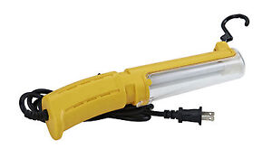 Switchless Fluorescent Task Work Trouble Light 25 Ft 18 2 Sjt Cord Epl 25ns
