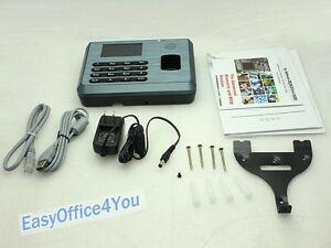 Biometric Identification Fingerprint Time Attendance Tcp ip Usb Free Software