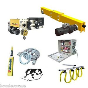 5 Ton Street Crane Complete Overhead Crane Kit Up To 57 Ft Span Vfd Controls