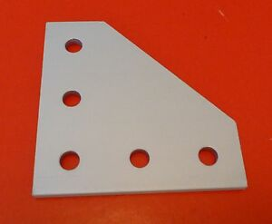 Tnutz Anodized Aluminum 5 Hole 90 Joining Plate 10 Series P n Jp 010 h New