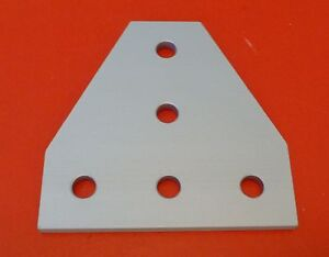 Tnutz Anodized Aluminum 5 Hole Tee Joining Plate 10 Series P n Jp 010 j New