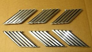 1963 Ford Thunderbird New Door Emblem Set Of 6