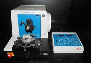 Leica Jung Supercut Model 2065 Benchtop Microtome With Controller