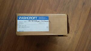 Ashcroft B422s Xfm 600psi Pressure Switch