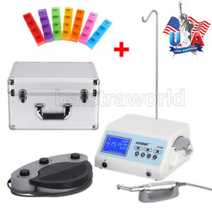 Dental Surgical Brushless Motor Implant System 20 1 Contra Angle 110v A cube Us