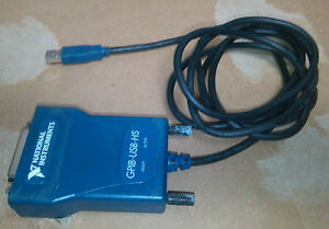 National Instruments Ni Gpib usb hs Interface Adapter Tested