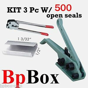 500 Open Seal Kit5 Strapping Poly Crimper tensioner And Cutter 1 2 To 5 8