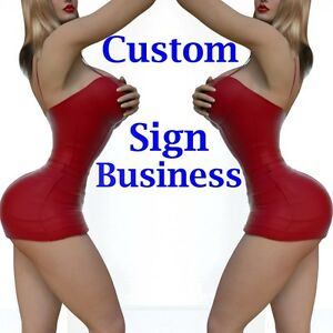 Custom Sign Business For Sale