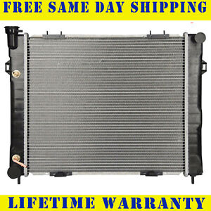 Radiator For 1993 1997 Jeep Grand Cherokee Grand Wagoneer 5 2l Free Shipping