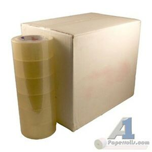 Lot Of 6 Cases 36 Rolls 2 X 330 1 9 Mil Clear Packing Tape
