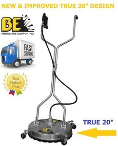 Be Pressure Whirl a way 20 Stainless Steel Flat Surface Concrete Cleaner