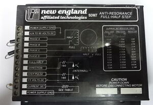 England Affiliates Technologies Sdm7 Stepping Motor Driver