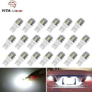 20 X T10 192 194 Car White 20 Smd Led Interior License Plate Dome Map Light Bulb