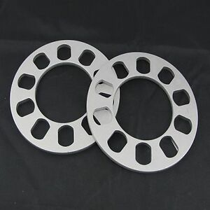 2 0 25 Inch Flat Wheel Spacers 5x114 3 For Chevy Chrysler Dodge Ford