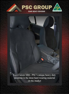 Seat Covers Front Ford Falcon Ba Bf Fg Fgx Xr 100 Waterproof Premium Neoprene