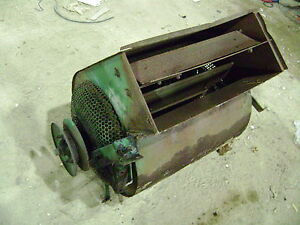 John Deere 40 Combine Grain Cleaner Fan Blower 45 55 95 Part Out
