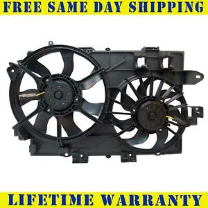 Radiator And Condenser Fan For Chevrolet Equinox Pontiac Torrent Gm3115204