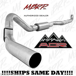 Mbrp 4 Exhaust For 2001 2010 Duramax 6 6l Lb7 Lly Lbz Lmm 08 10 Race S6004p