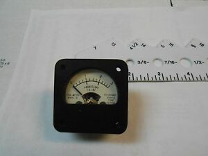 59 7599 Ideal Meter 0 3 Fs 100uadc 2000 Ohms New Old Stock 1 3 4