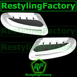 11 14 Ford Explorer Chrome Top Half Triple Plated Mirror Cover 2013 Left Right