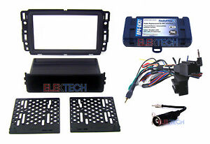 Radio Replacement Interface W Dash Kit Single Double Din For Gmc Buick Chevy