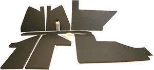 Amjd30uk e Upholstry Kit Black For John Deere 4030 4230 4430 4630 Tractors
