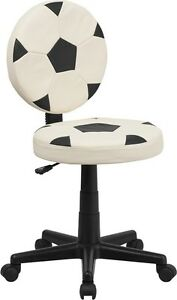 Soccer Ball Design Task Office Chair Kids Or Aduls Office Desk Chair