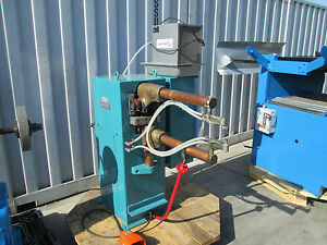 Stryco 50 Kva 24 Industrial Spot Welder With Chiller Tips In Good Condition