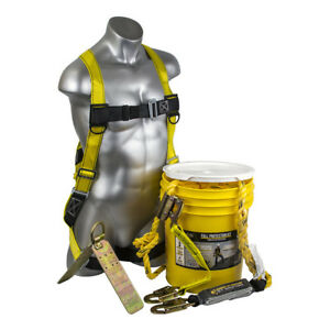 Guardian Bucket Of Safety Premium Roofer s Fall Protection Kit