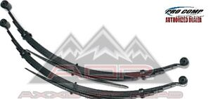 Pro Comp 22410 Front Leaf Springs 4 99 04 Ford F250 F350 Pair With Bushings