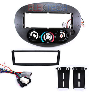 Ford Escord Mercury Tracer Single Din Radio Dash Mounting Kit And Wire Harness