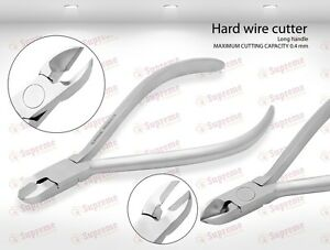 German Tc Hard Wire Cutter Orthodontic Pliers Instruments