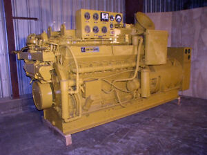 600 Kw Caterpillar marathon Generator V 16 Cat Engine 240 277 480 Volts