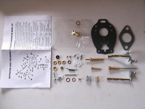 Ford 8n 9n 2n Major Repair Carb Kit Tsx33 Tsx241 Marvel Schebler