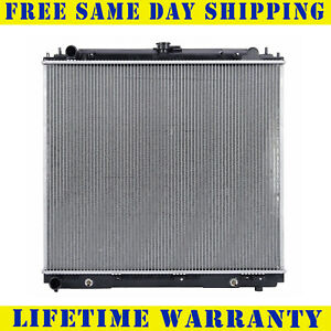 Radiator For 2005 2018 Nissan Frontier 2 5l Lifetime Warranty Fast Free Shipping