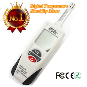 Ht 350 Mini Lcd Handheld Dew Point Wet Bulb Temperature Humidity Meter Tester