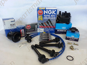 1996 2000 Honda Civic 1 6l Tune Up Kit Cx Dx Ex Lx with Ngk V power Plugs