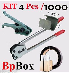 Tensioner And Cutter 1 2 To 5 8 Strapping Poly Crimper 1000 Op Kit4 1000
