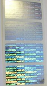 1000 Svag 75 Security Seals Tamper Evident Warranty Void Labels Sticker Seals