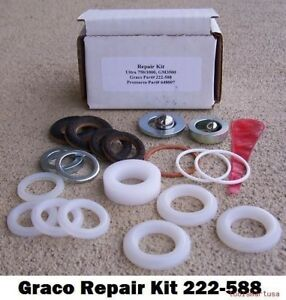 Aftermarket For Graco Paint Sprayer Piston Pump Repair Kit 222588 222 588