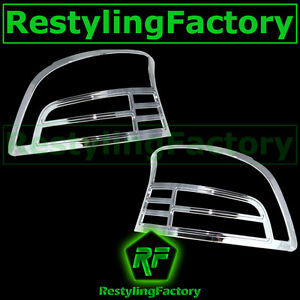 07 11 Toyota Yaris 4dr Mdoel Only Triple Chrome Taillight Tail Light Lamp Cover