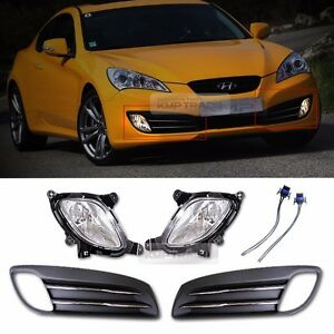 Oem Parts Fog Light Lamp Cover Connector For Hyundai 2009 2012 Genesis Coupe