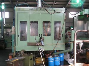 Variomatic T3 9 Stations Rotary Transfer Machine 1989 Excellent Condition