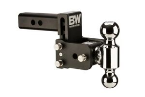 B W Tow And Stow Hitch Ball Mount 3 Drop 3 1 2 Rise Dual Ball Ts10033b